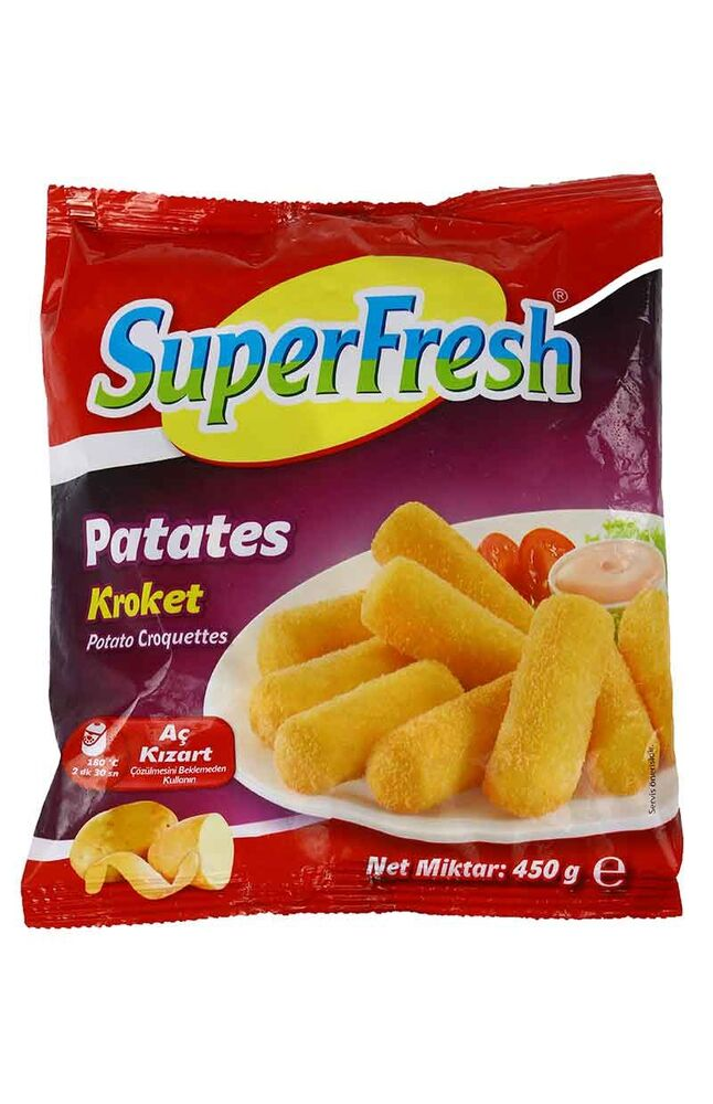 Image for Superfresh Kroket Patates 450 Gr from Kocaeli