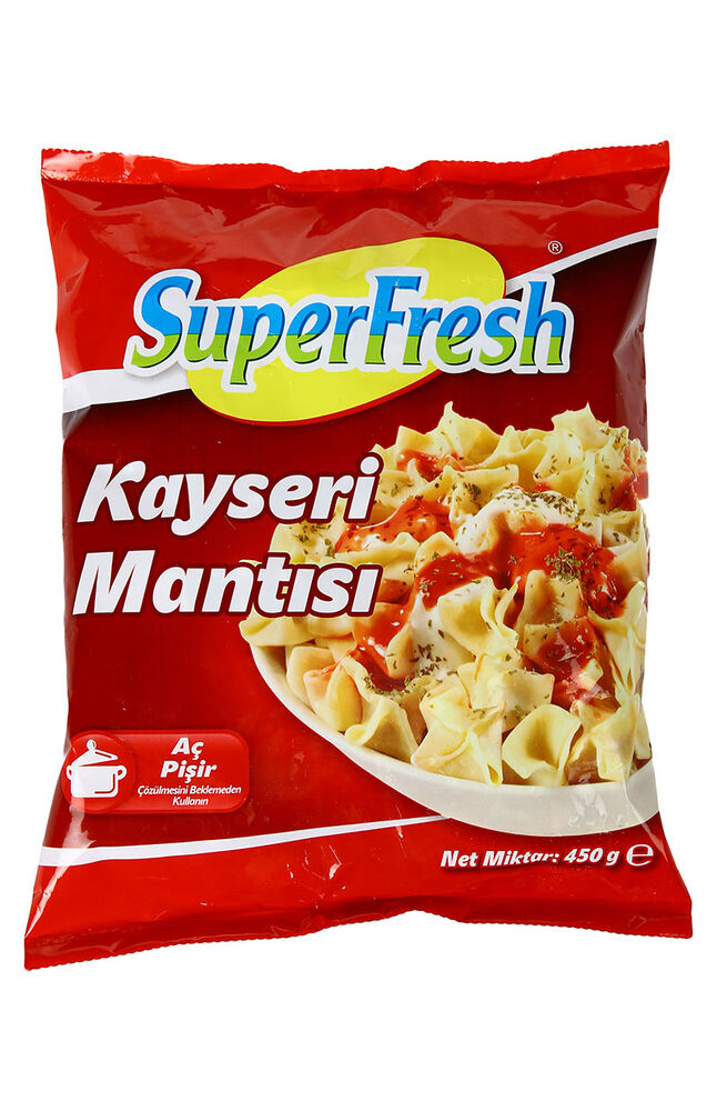 Image for Superfresh Mantı Kayseri 450Gr from Bursa
