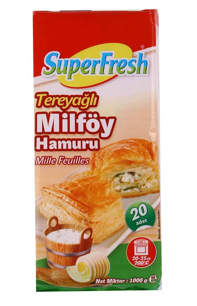 Image for Superfresh Milfoy Tereyağlı 1 Kg from Kocaeli