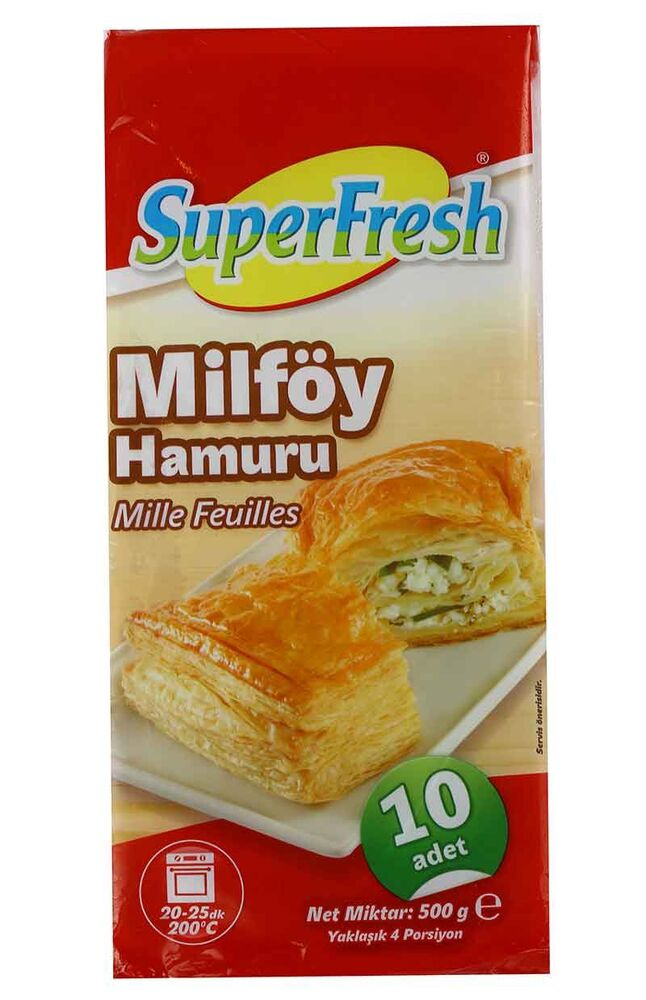 Image for Superfresh Milfoy 500 Gr from İzmir