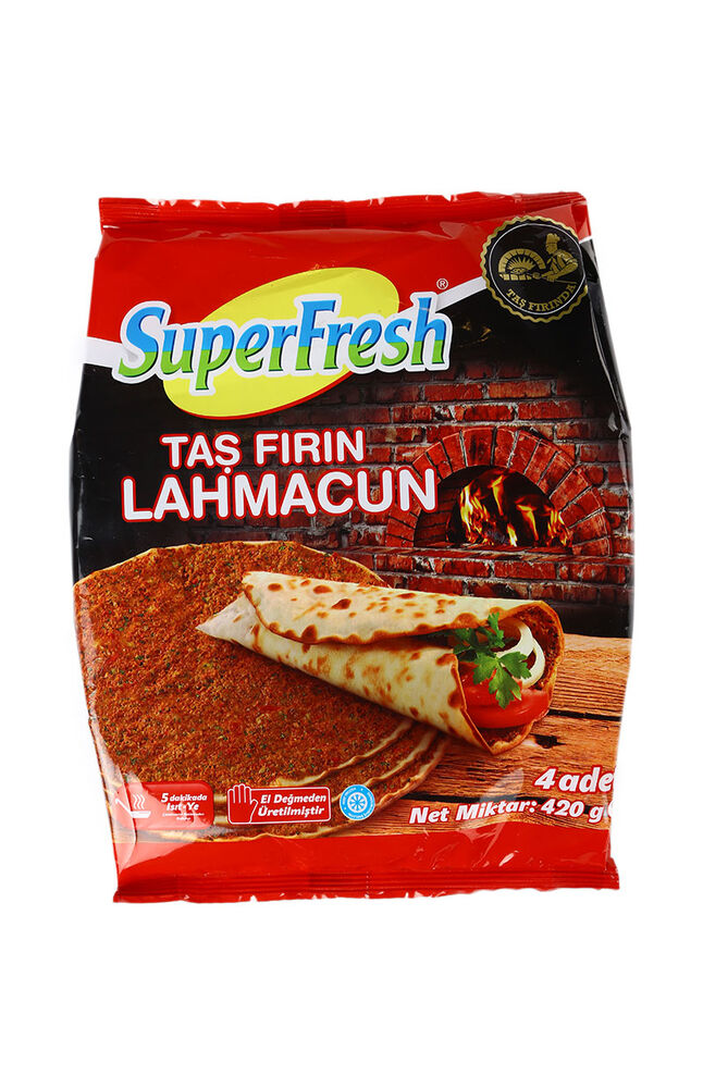 Image for Superfresh Lahmacun 420 Gr from Eskişehir