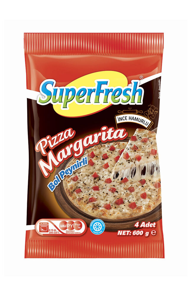 Image for Superfresh Pizza Margarita 600 Gr from Kocaeli