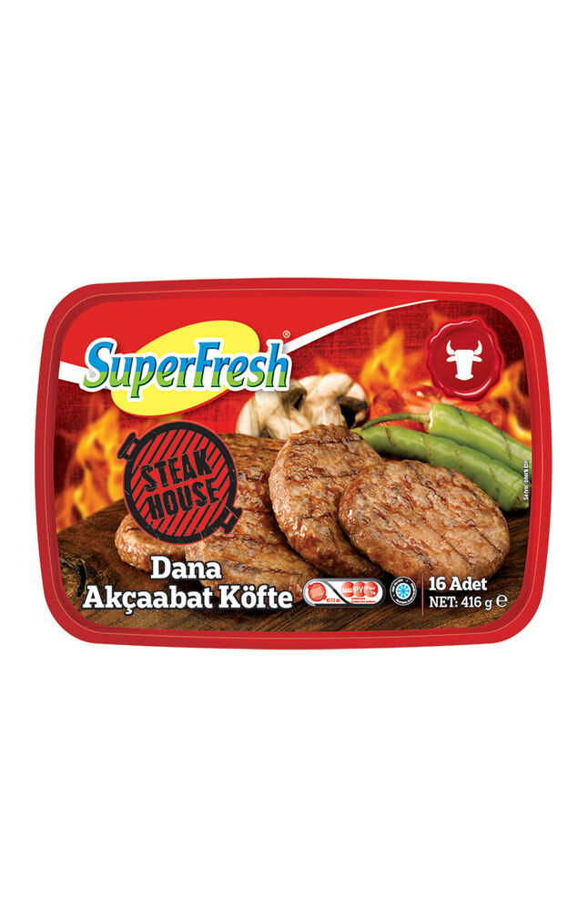 Image for Superfresh Akçabat Köfte 416 Gr from Kocaeli