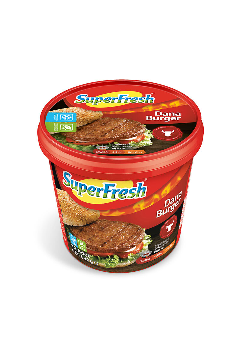 Image for Superfresh Hamburger Köfte 540 Gr from Bursa