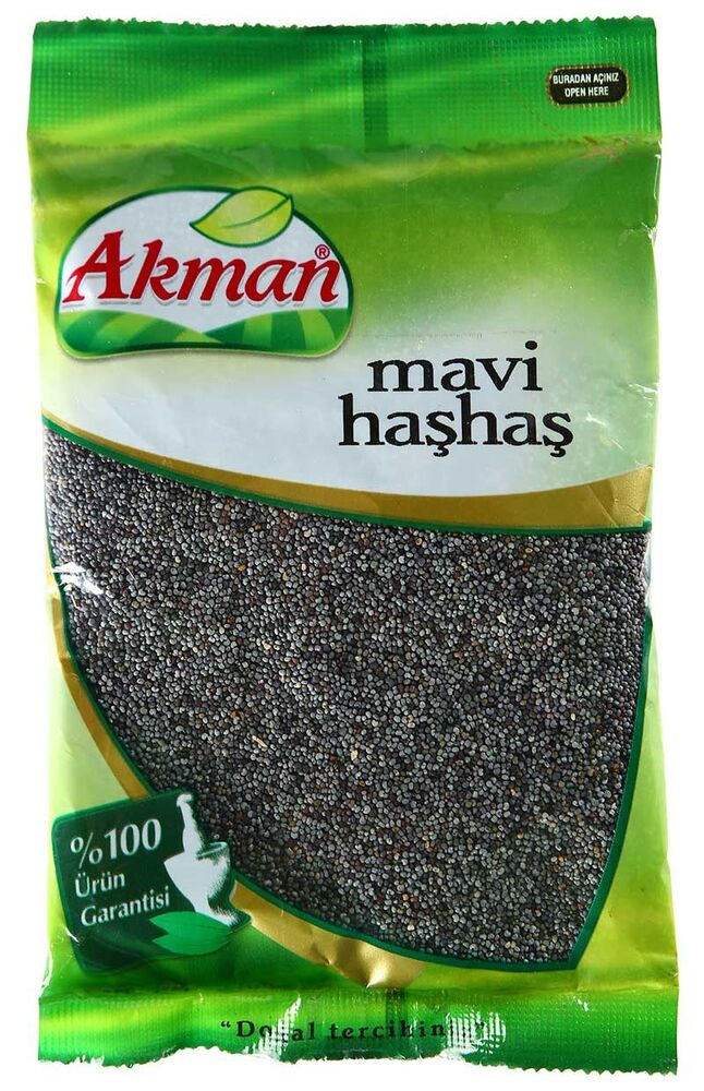 Image for Akman Mavi Haşhaş 60 Gr from Bursa