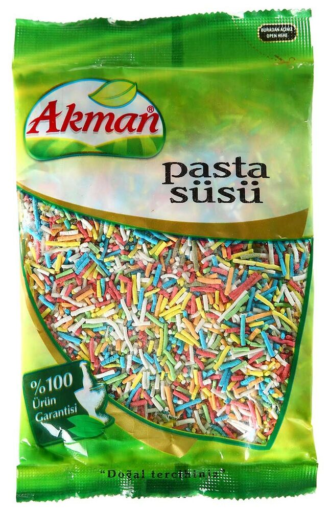 Image for Akman Pasta Süsü 50 Gr from İzmir