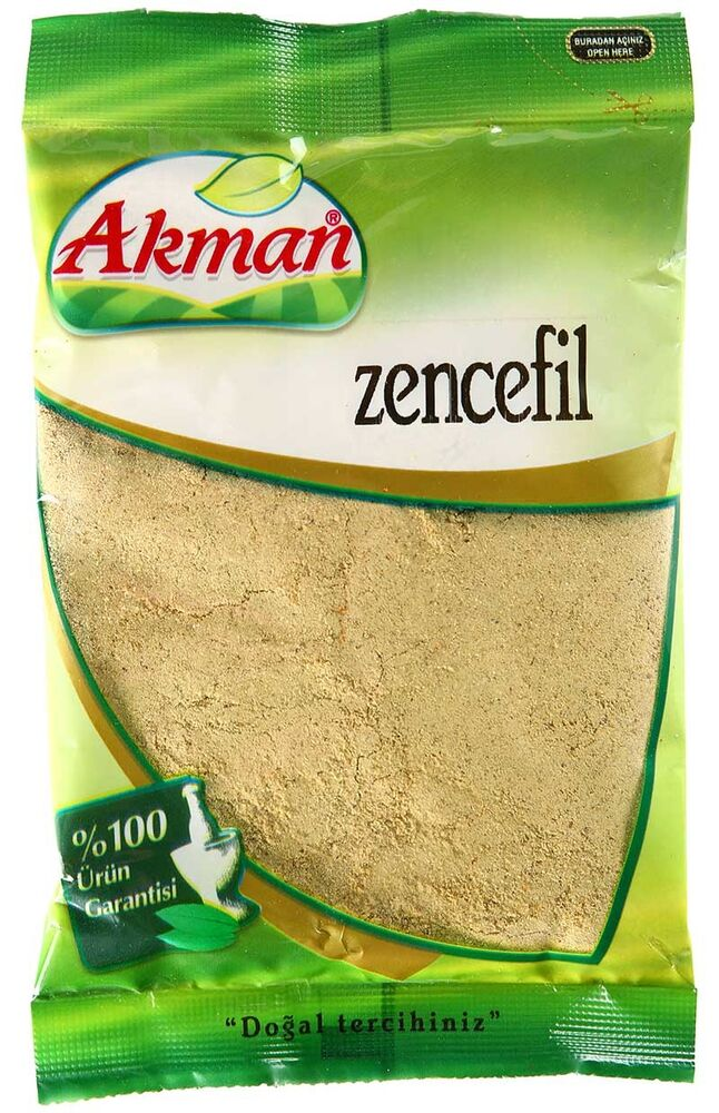 Image for Akman Zencefil 50 Gr from Antalya