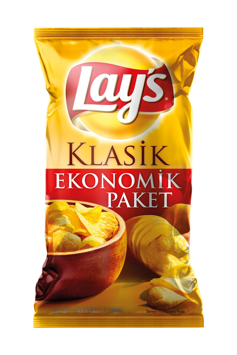 Image for Lays Mega Boy Klasik 215 Gr from İzmir