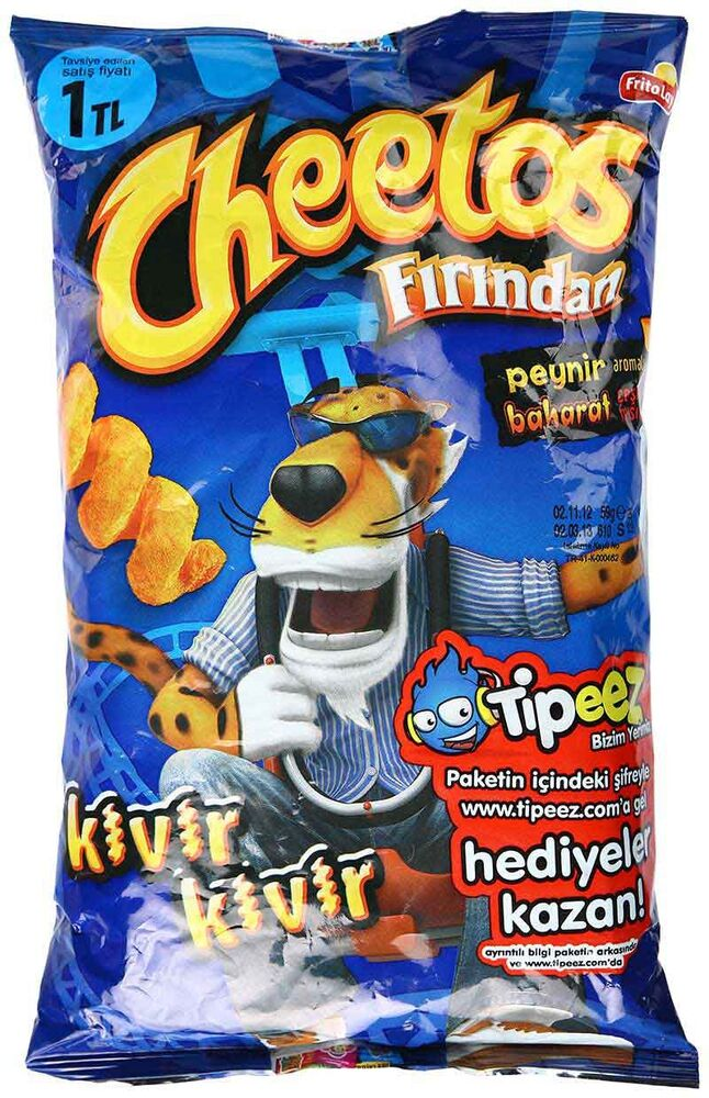 Image for Cheetos Kıvır Kıvır 38 Gr from Eskişehir