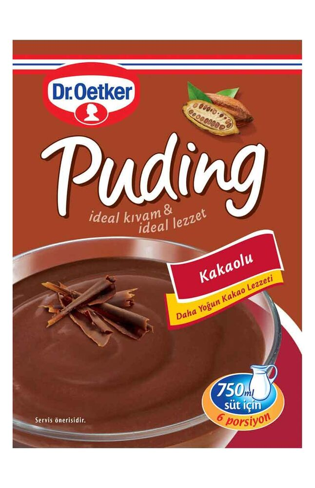Image for Dr.Oetker Kakaolu Puding 154 Gr from İzmir