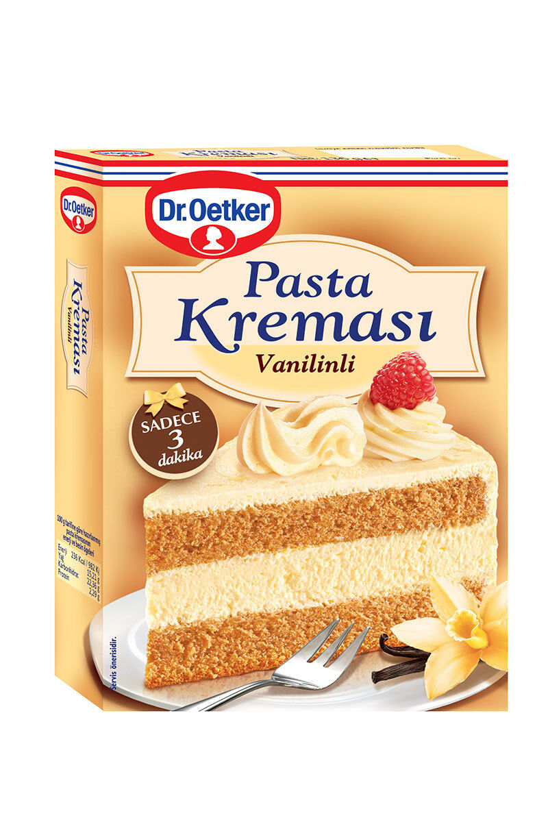 Image for Dr.Oetker Vanilyalı Pasta Kreması 140 Gr from Bursa