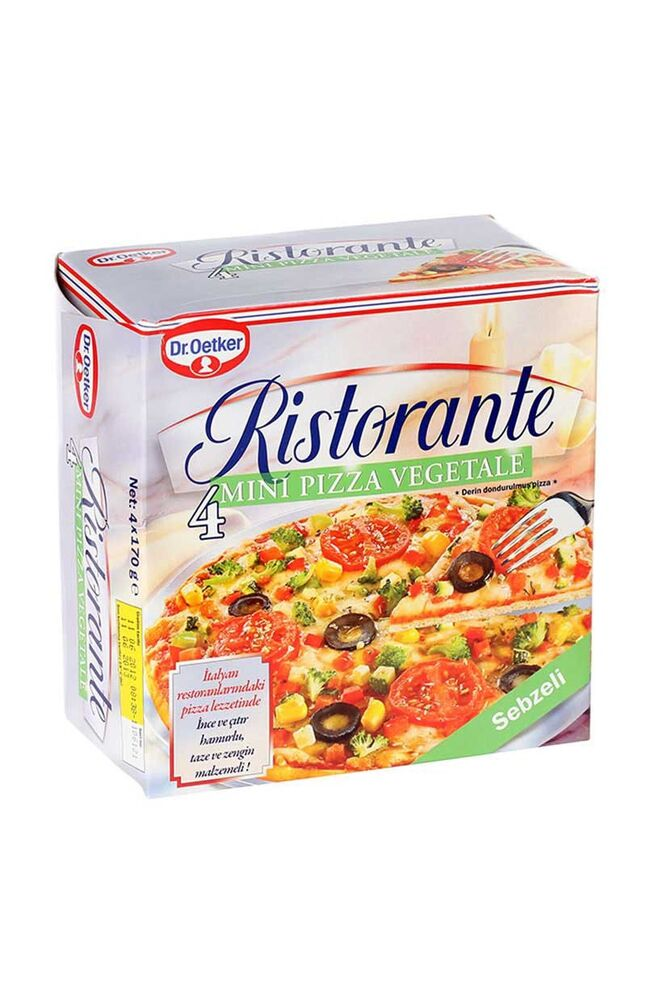 Image for Dr.Oetker Pizza Sebzeli 4*165 Gr from İzmir