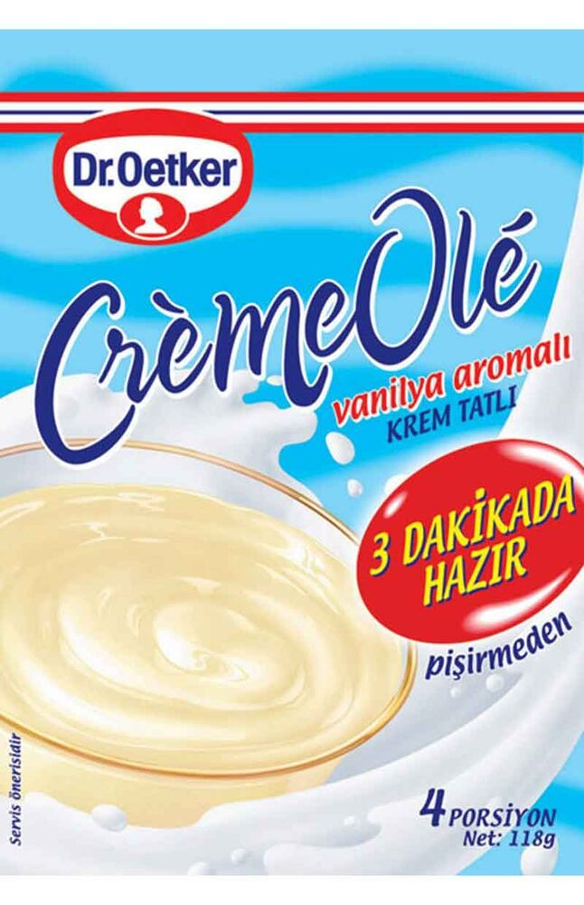Image for Dr.Oetker Vanilyalı Creme Ole 110 Gr from Bursa