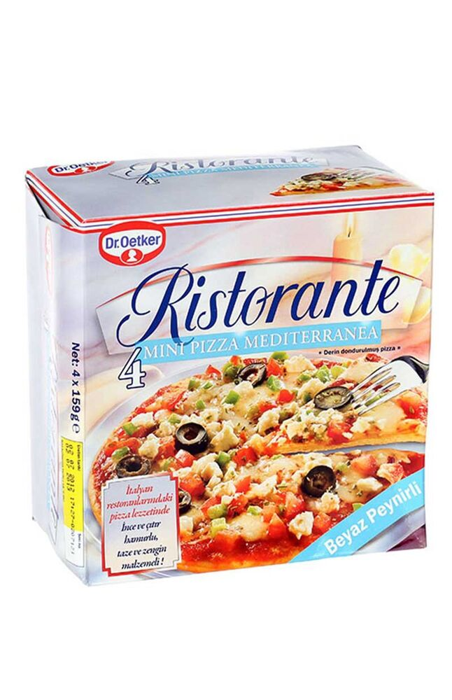 Image for Dr.Oetker Peynirli Pizza 4*159 Gr from İzmir
