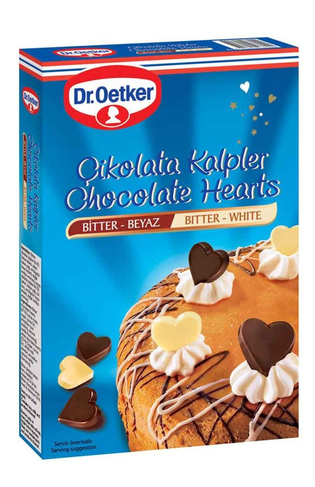 Image for Dr.Oetker Çikolata Kalpler 45 Gr from Antalya