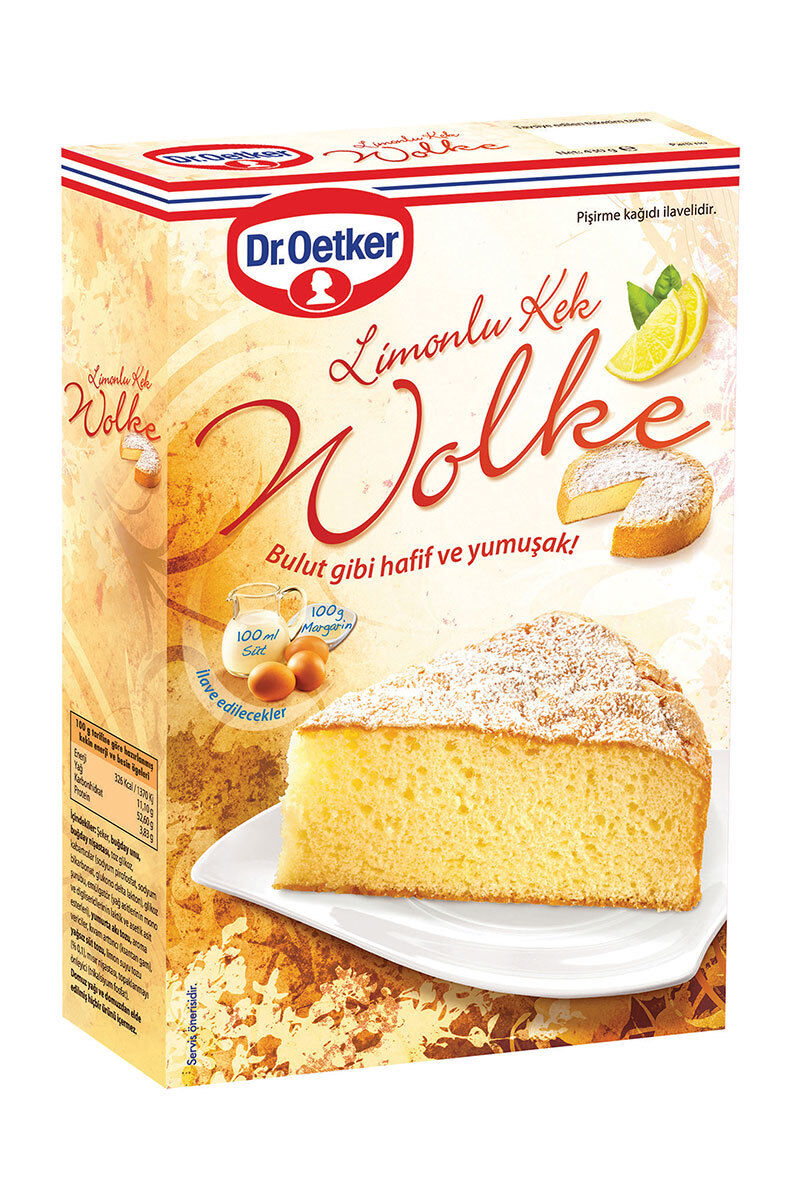 Image for Dr.Oetker Wolke Limonlu Kek Kar. 430 Gr from Bursa