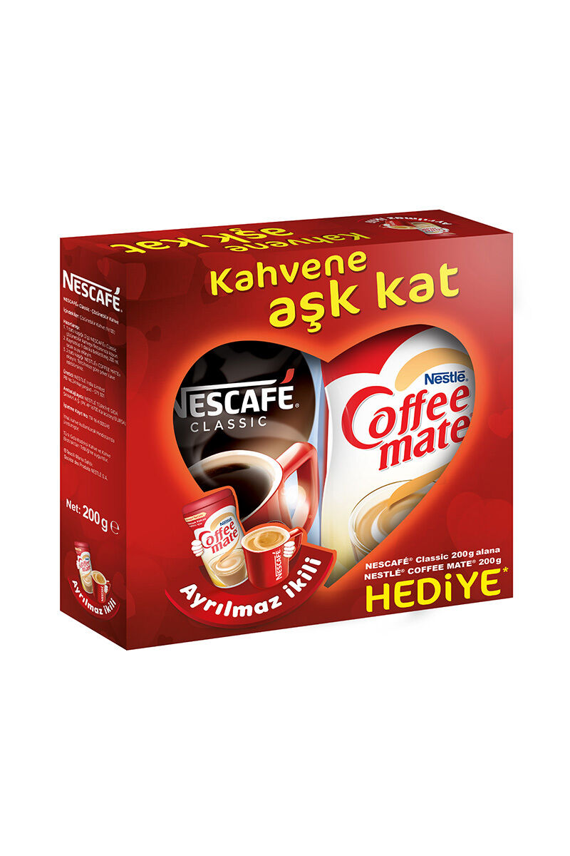 Image for Nescafe Classıc Yedek 200Gr. + Coffee Mate 200Gr from Kocaeli
