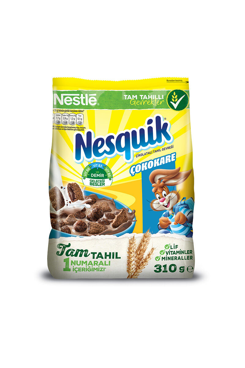 Image for Nestle Nesquik Çokokare Gevrek 310 Gr from Bursa