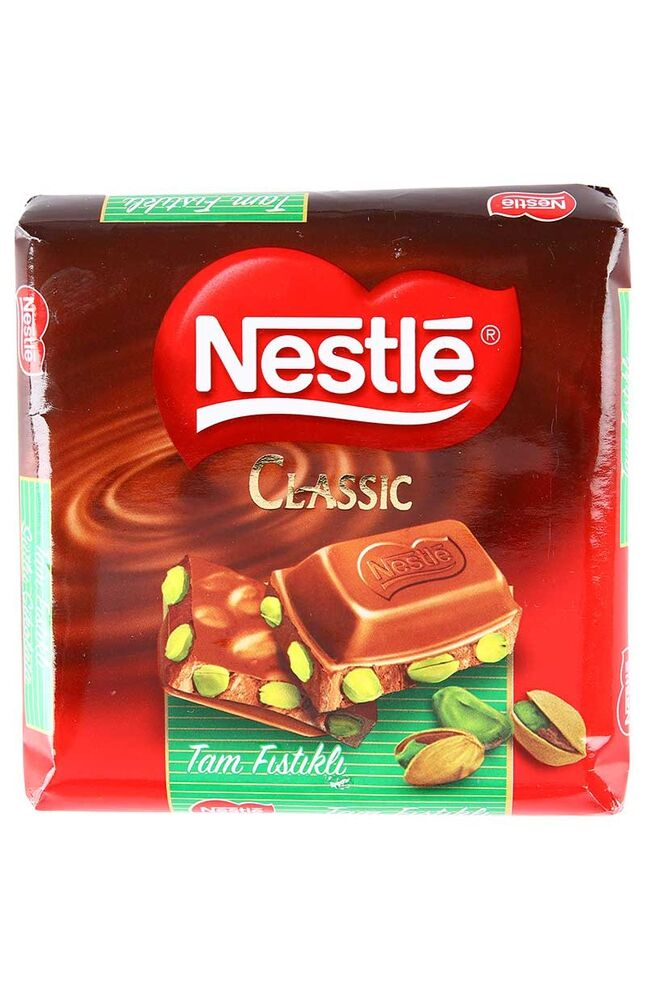 Image for Nestle Çikolata Tam Fıstıklı 80Gr Kare from Bursa