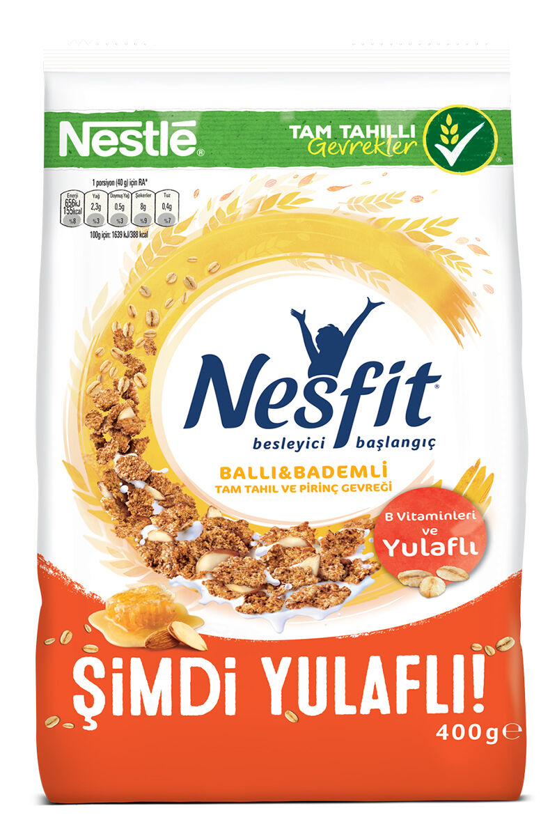 Image for Nestle Nesfit Ballı Badem 400 Gr from Kocaeli