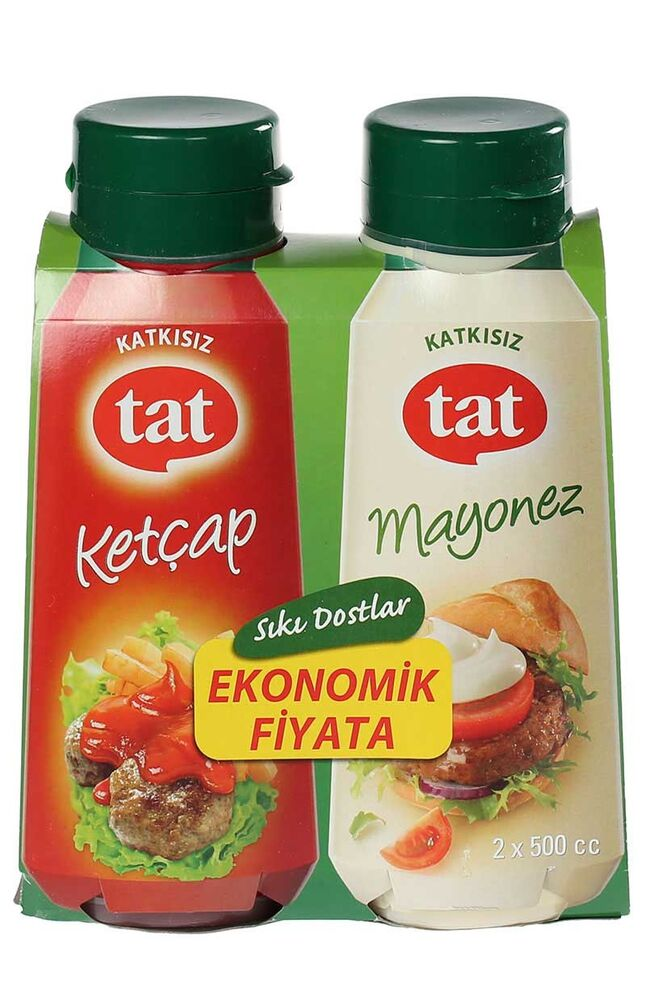 Image for Tat Ketçap 510 Gr + Mayonez 465 Gr from Bursa