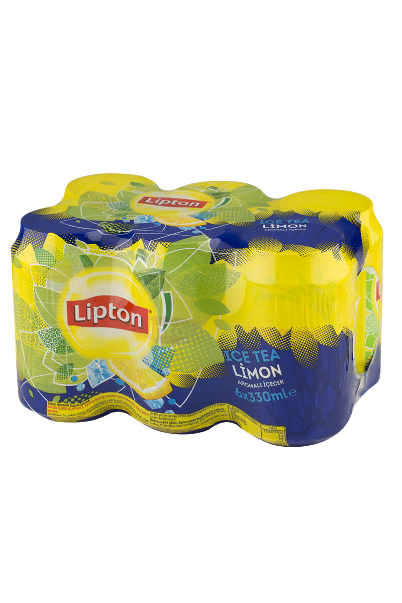 Lipton Ice Tea 330Ml 6'lı Limon-Kutu