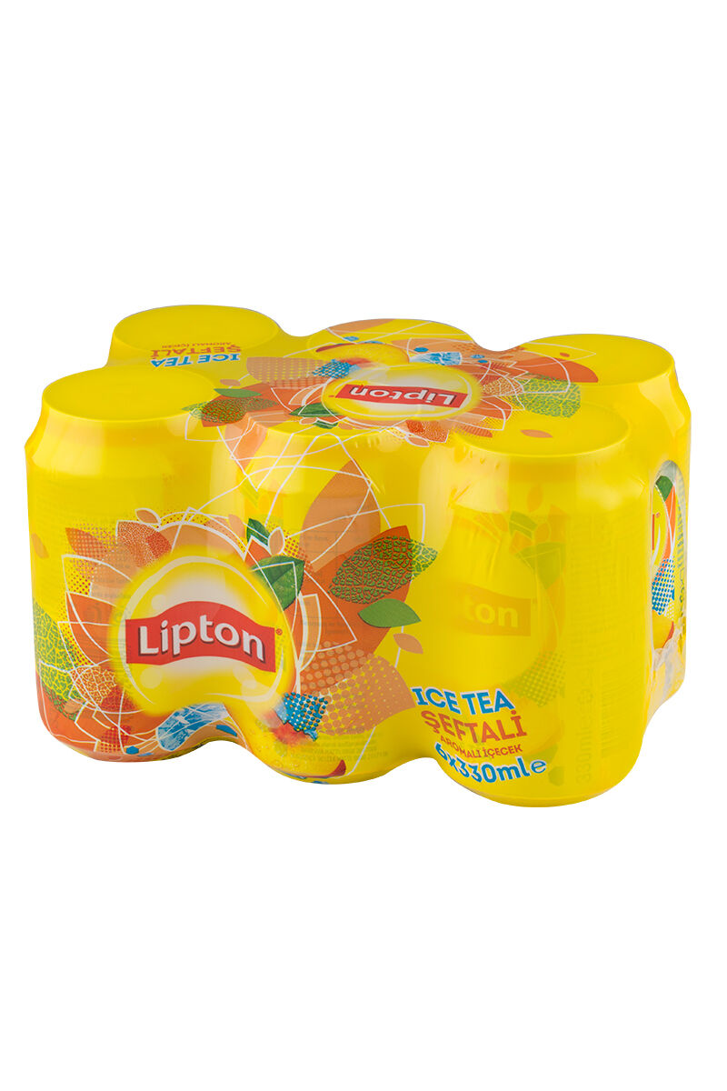 Lipton Ice Tea 330Ml 6'lı Şeftali-Kutu