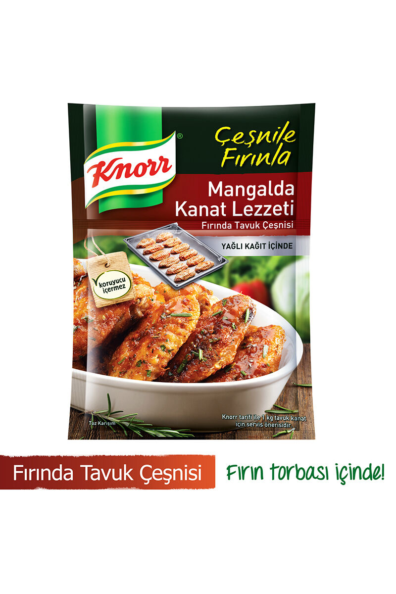 Image for Knorr Çeşni Mangalda Kanat 32 Gr Tavuk from Bursa