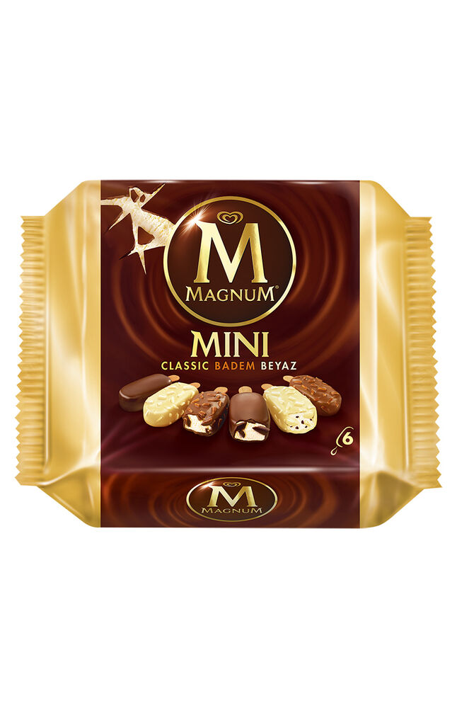 Image for Algida Magnum Mini Badem 360 Ml from Antalya