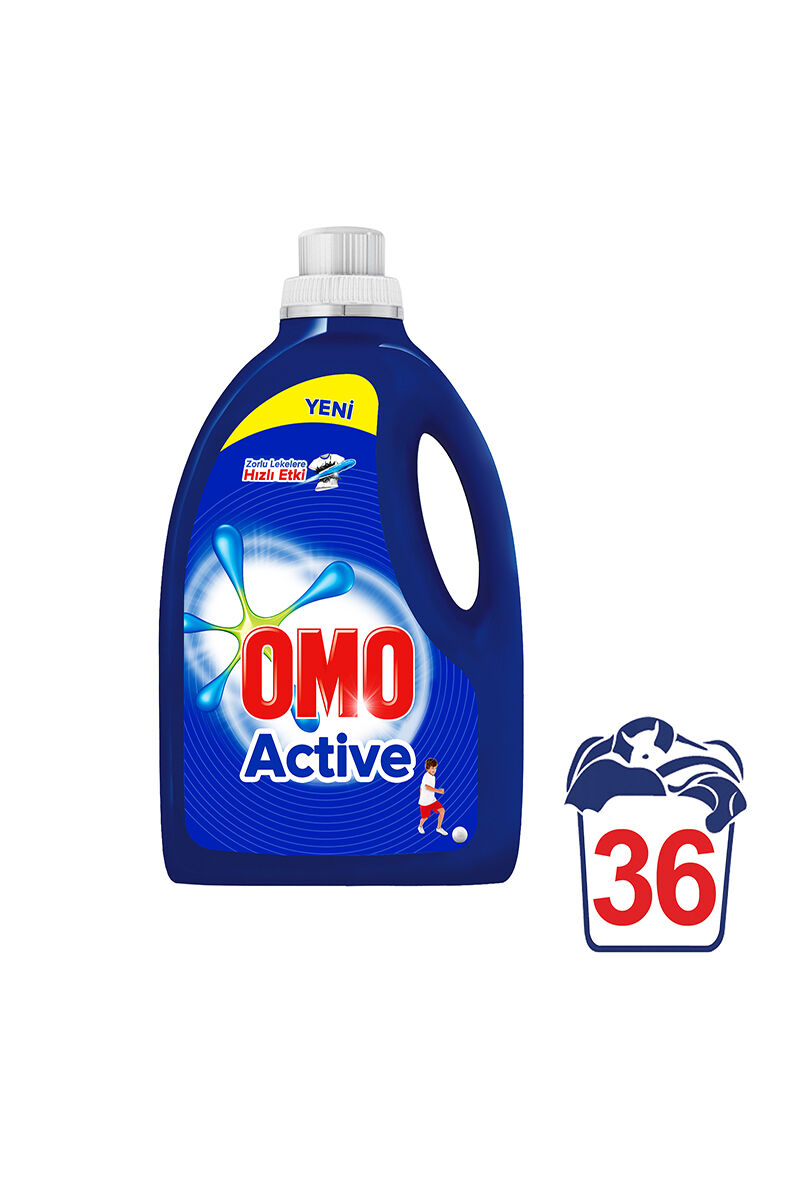 Image for Omo Sıvı Active 2700 Ml 36 Yıkama from Eskişehir