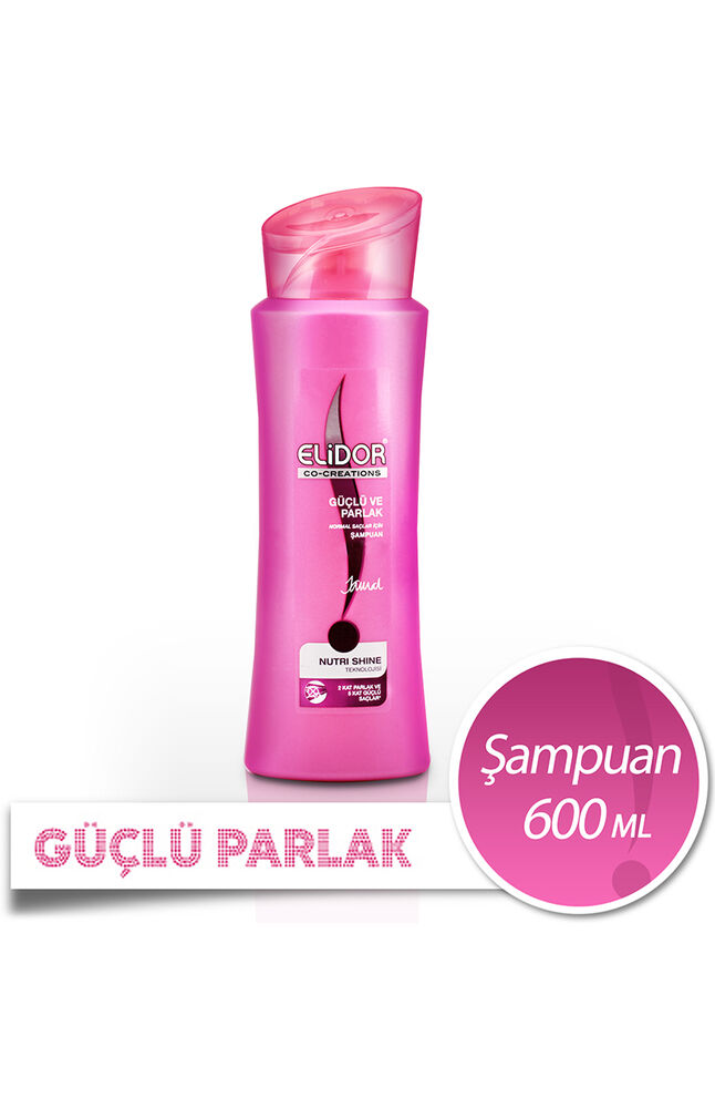 Image for Elidor 550 Ml Şampuan Güçlü Ve Parlak from Bursa