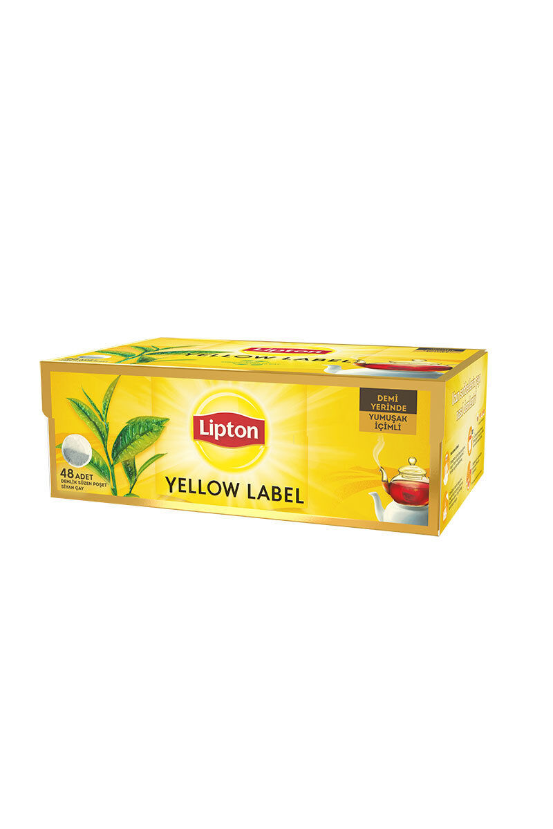 Image for Lipton Yellow Label Çay 48'li Demlik Poşet from Bursa
