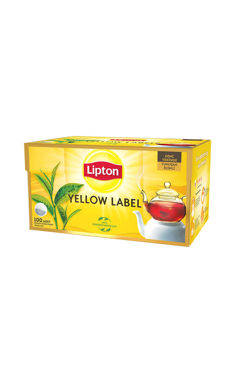 Image for Lipton Yellow Label Çay 100'lü Demlik Poşet from Antalya