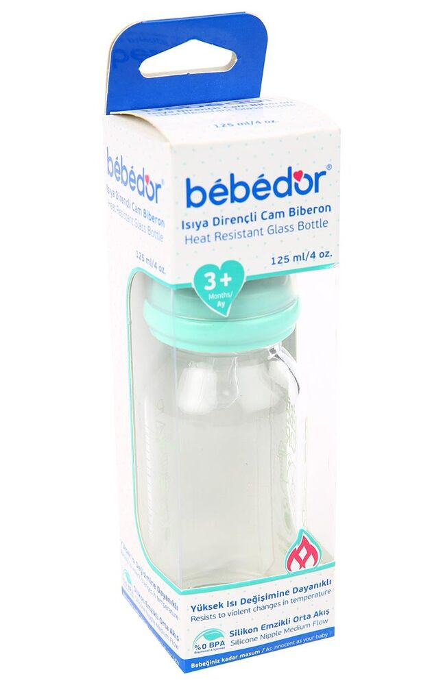 Image for Bebedor Cam Biberon Emzik Silikonlu 125 Ml from Antalya