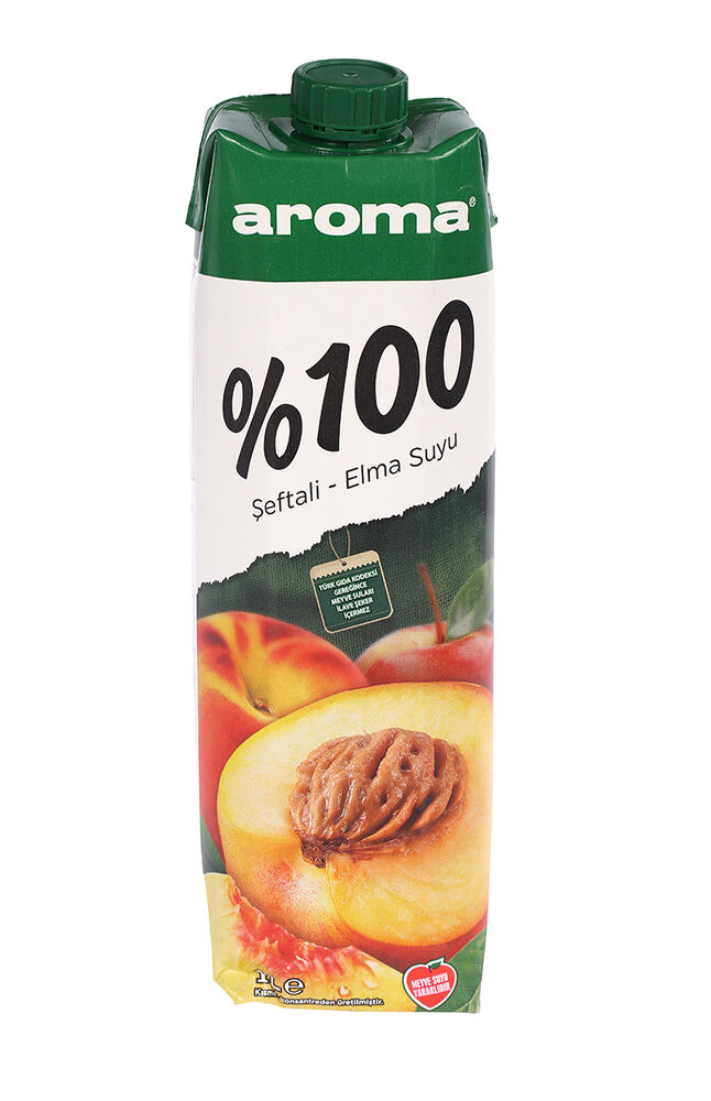Image for Aroma Meyve Suyu 1Lt %100 Şeftali-Elma from Bursa