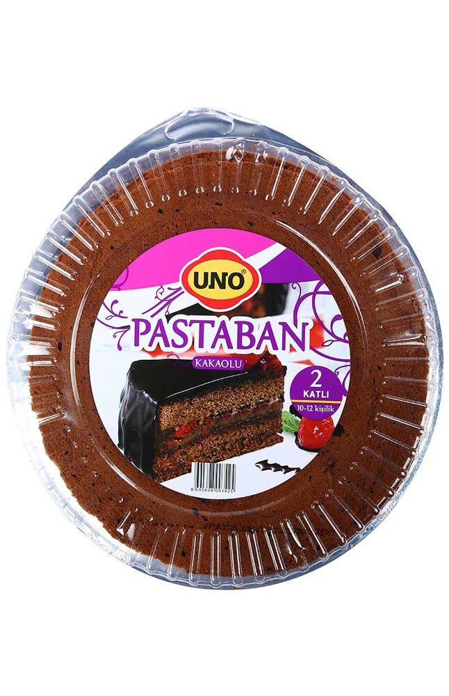Image for Uno Pastaban Kakaolu 250 Gr (İki Kat 23 Cm) from Antalya
