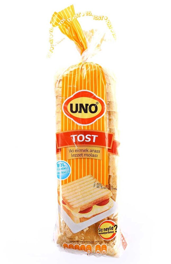 Image for Uno Tost Ekmeği 500 Gr from Bursa