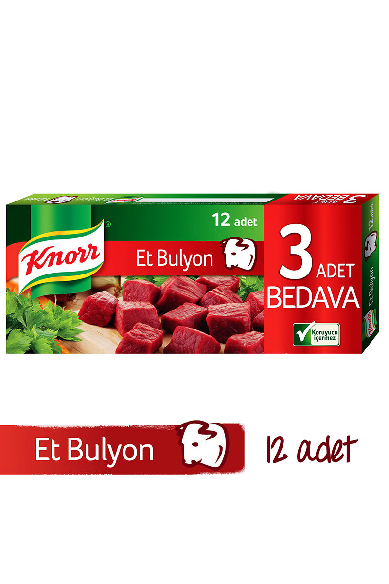 Image for Knorr Et Bulyon 120 Gr (%20 İndirimli) from Bursa