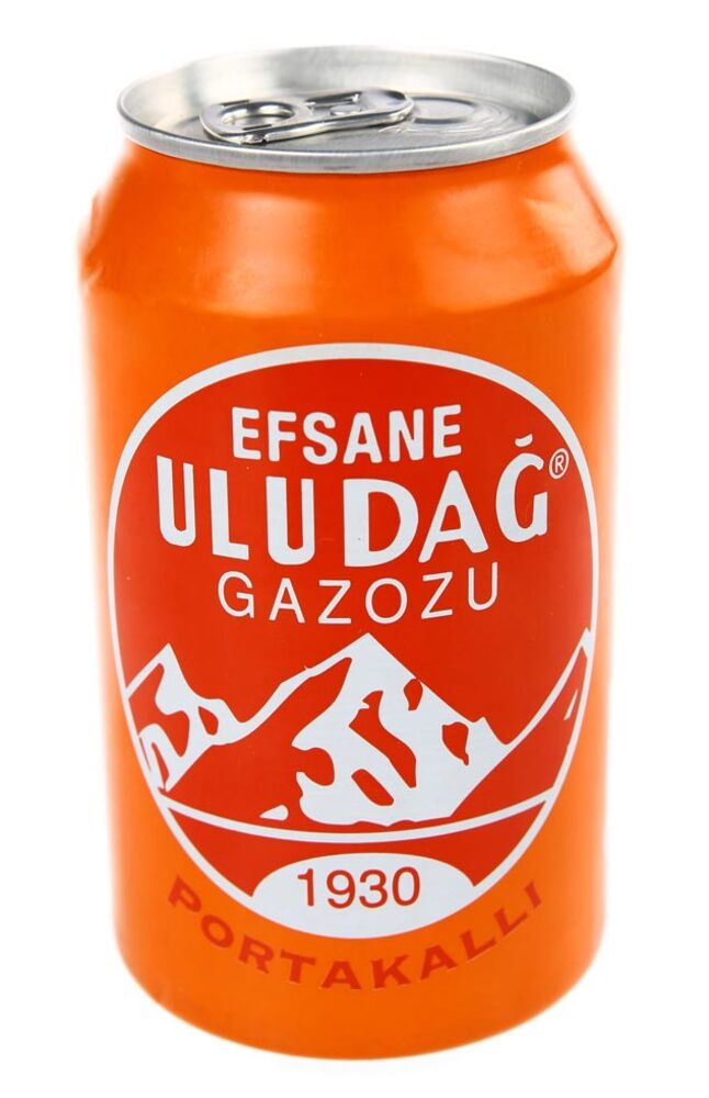 Image for Uludağ 330 Ml Portakal Kutu from Bursa