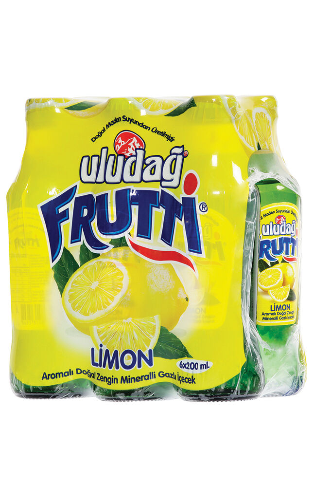 Image for Frutti 6X200 Ml Gazlı İçecek Limon. from Bursa