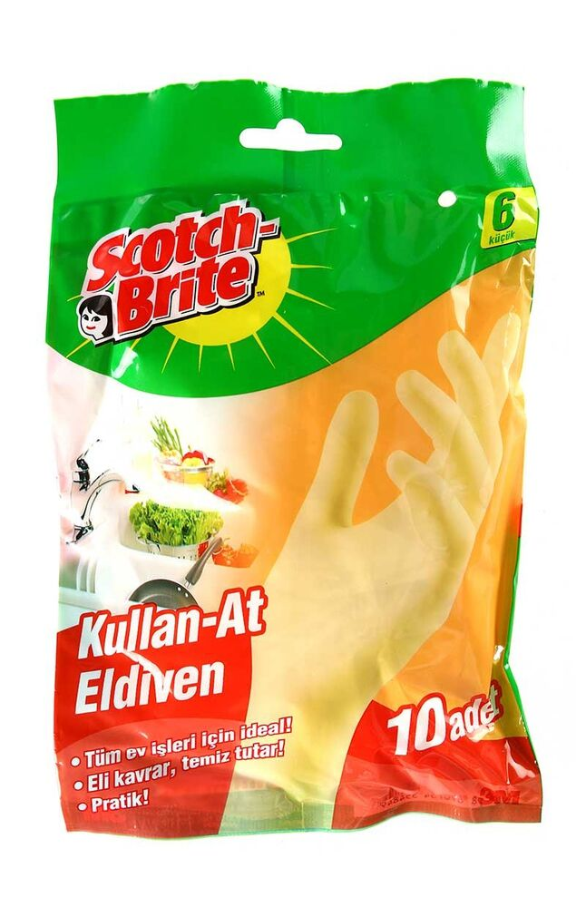 Scotch Brite Eldiven Kullan At 6