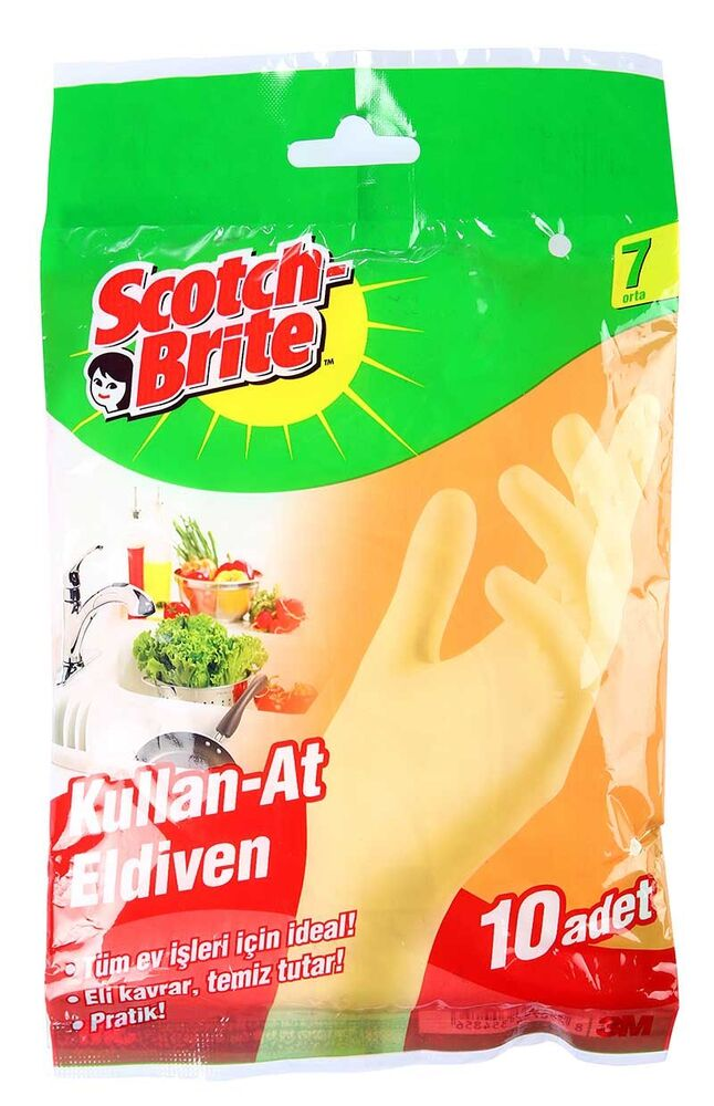 Scotch Brite Eldiven Kullan At 7