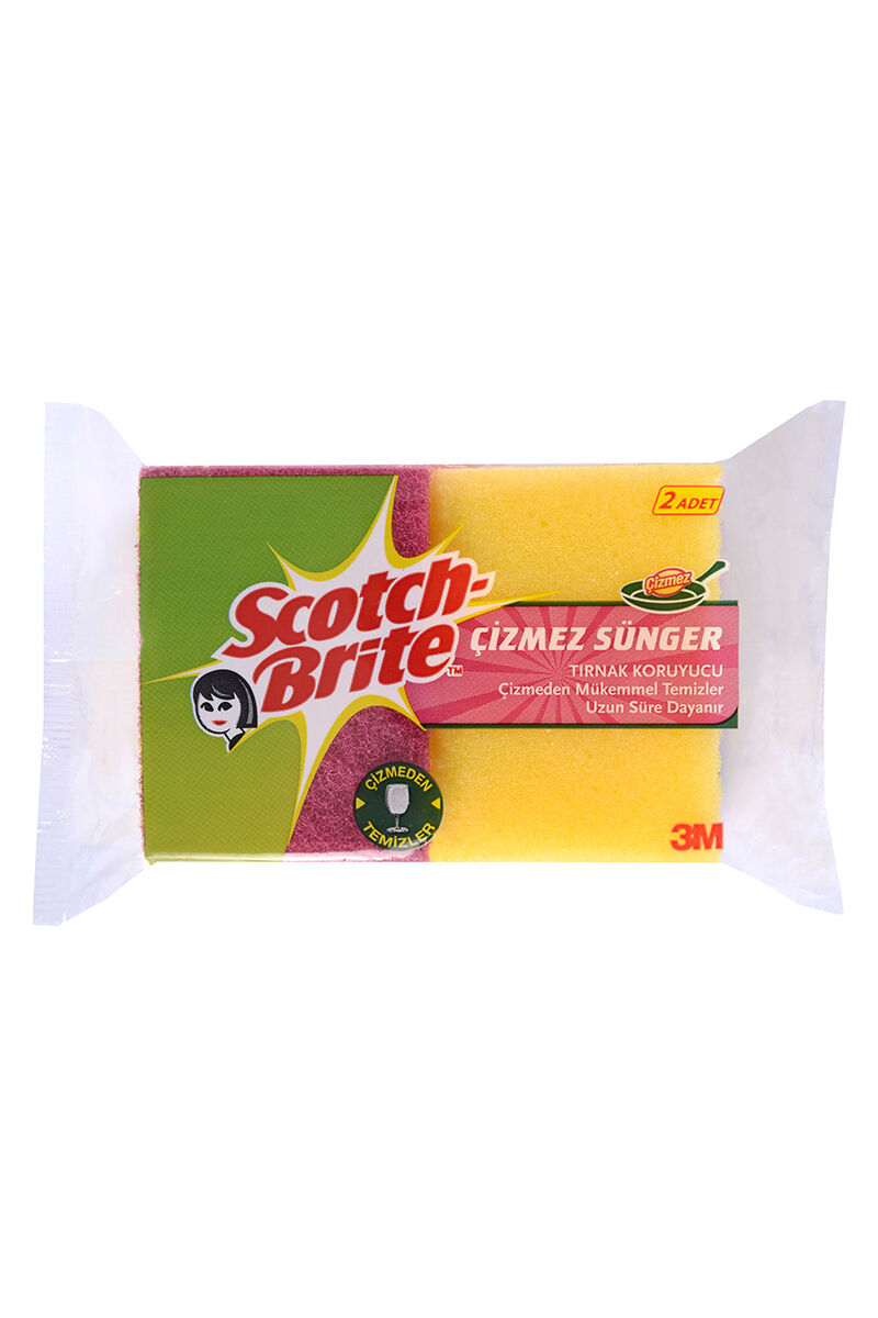 Image for Scotch Brite Sünger Çizmez 2'Li Oluklu from Antalya