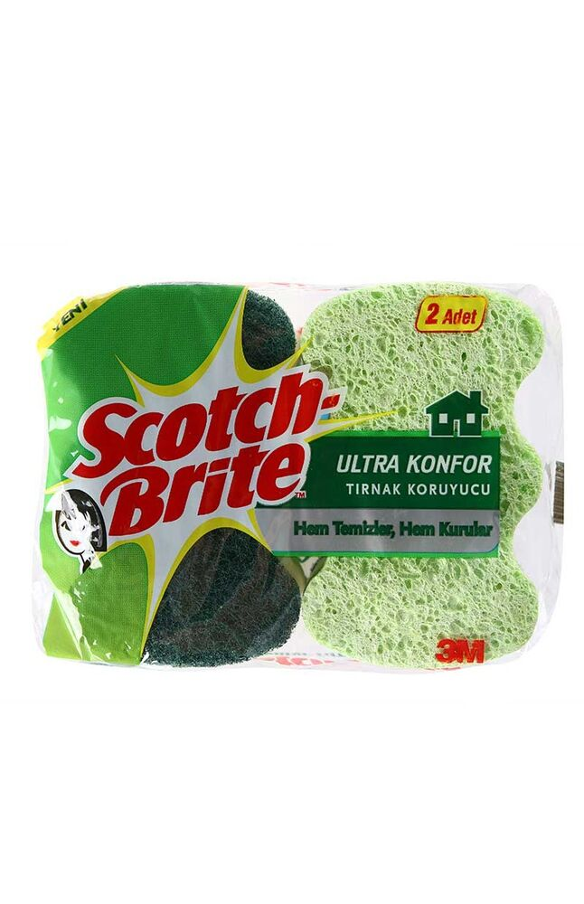 Image for Scotch Brite Sünger Konfor 2'Li from İzmir