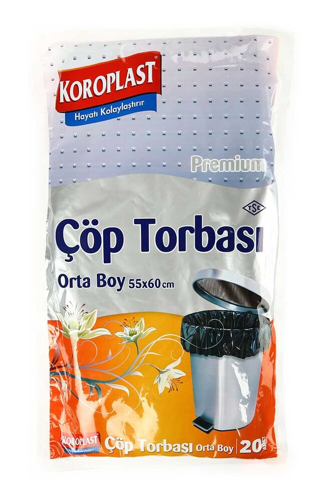 Image for Koroplast Çöp Torbası Orta Boy from Bursa