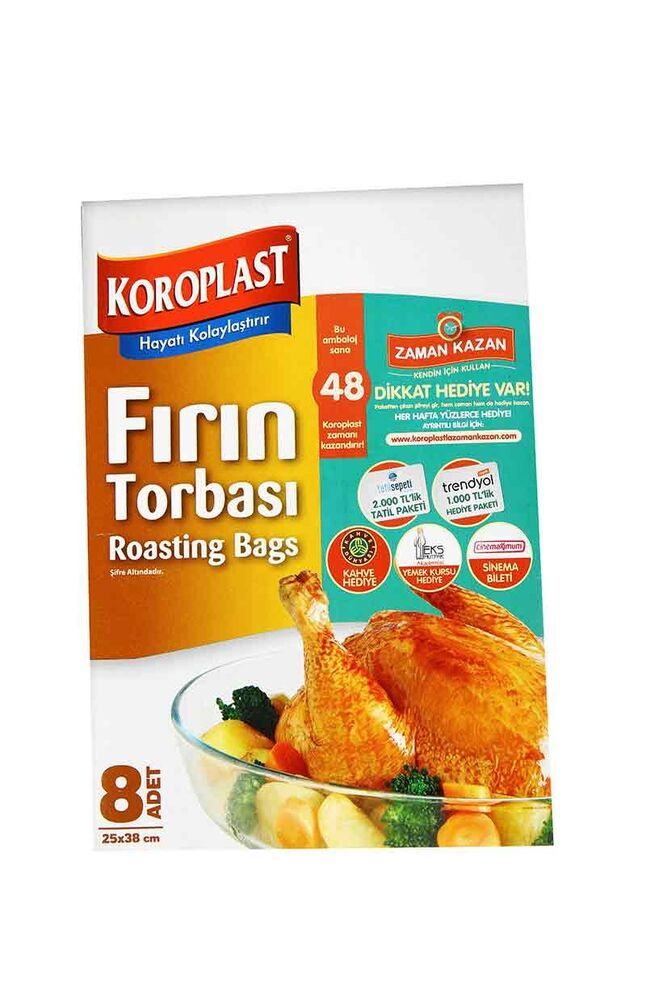 Image for Koroplast Fırın Torbası 25*38 from Bursa