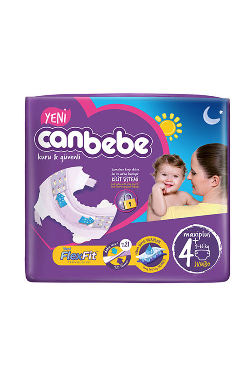 Image for Canbebe Jumbo Maxi Plus(4+) 9-16 Kg 42 Ped from Kocaeli