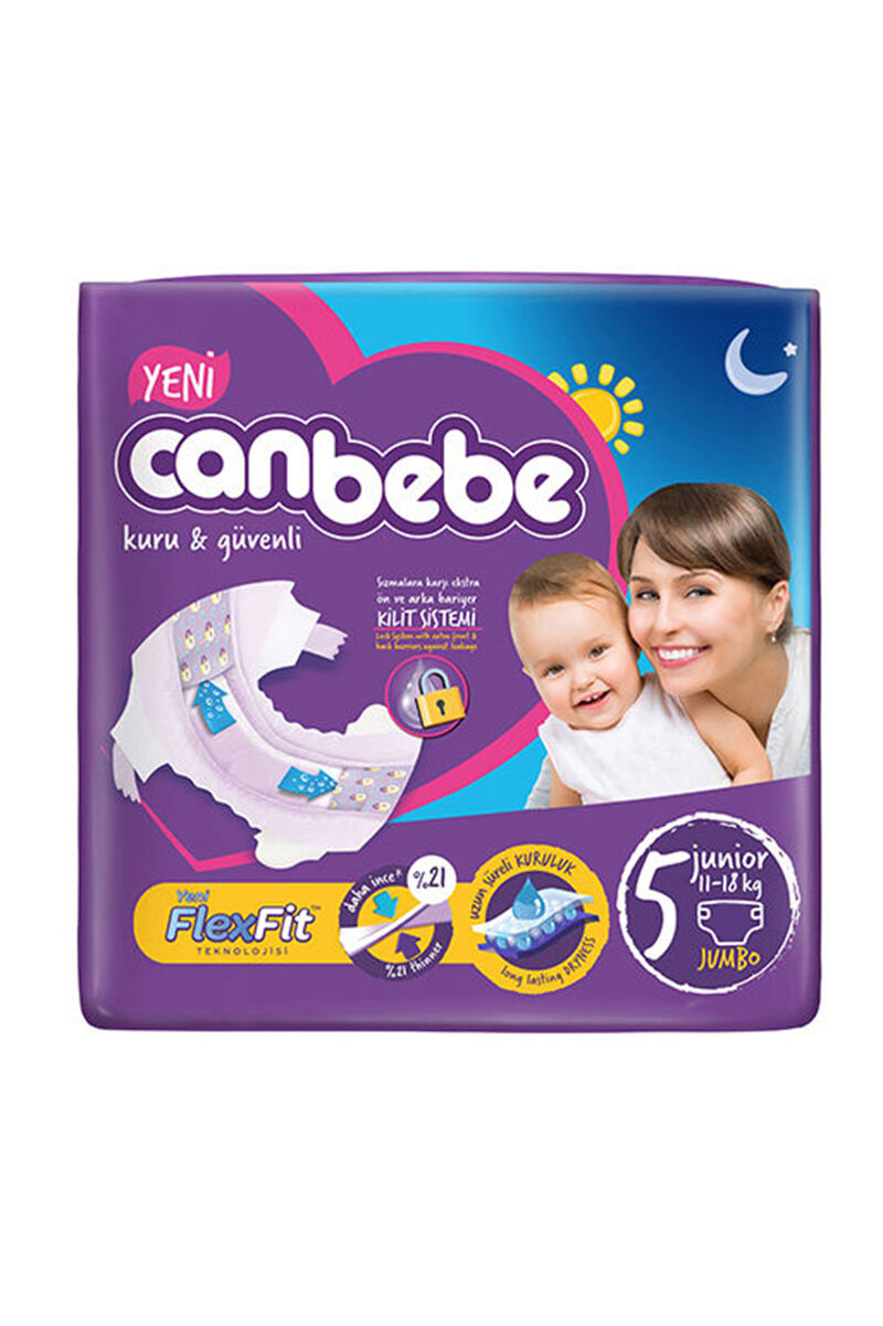 Image for Canbebe Jumbo Junior (5) 11-18 Kg 36 Ped from Antalya