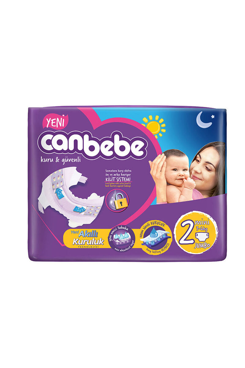 Image for Canbebe Jumbo Mini (2) 3-6 Kg 78 Ped from Eskişehir