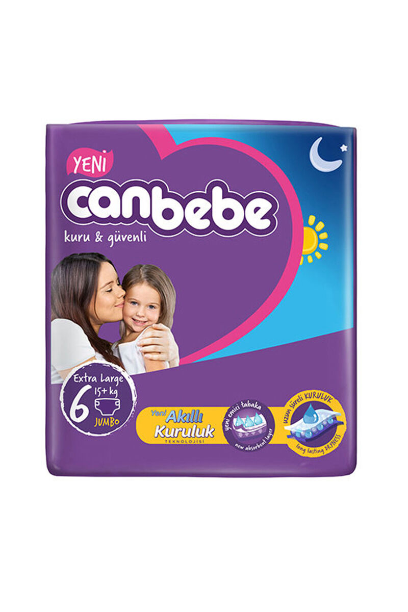 Image for Canbebe Jumbo Extra Large(6) 15+ Kg 28 Ped from İzmir